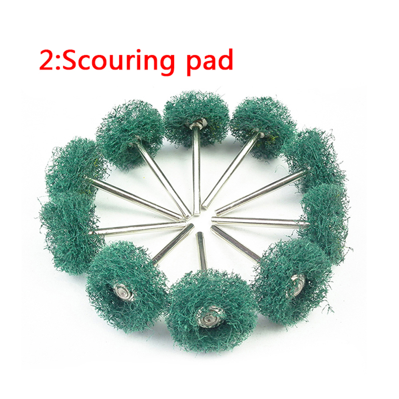 10pcs chiffon tampon de roue de polissage en coton pour accessoire - Outils abrasifs - Photo 5