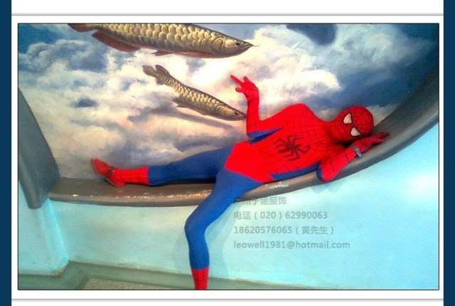 DB23580 Adult spiderman costume-13