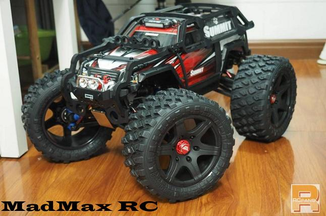 MADMAX Super Big Wheels Waterproof Wear-Resistant Tire FOR TRAXXAS SUMMIT RC Monster Truck 211MMX105MM 1 5 traxxas x maxx wheels tire rc monster truck model madmax high quality tyres upgrade rim 4pcs