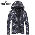 Spring & Autumn Thin Windproof 2017 Hooded New Arrival Jacket Hot Selling Zipper Printing Asian Size M-3XL Jacket MWJ1856