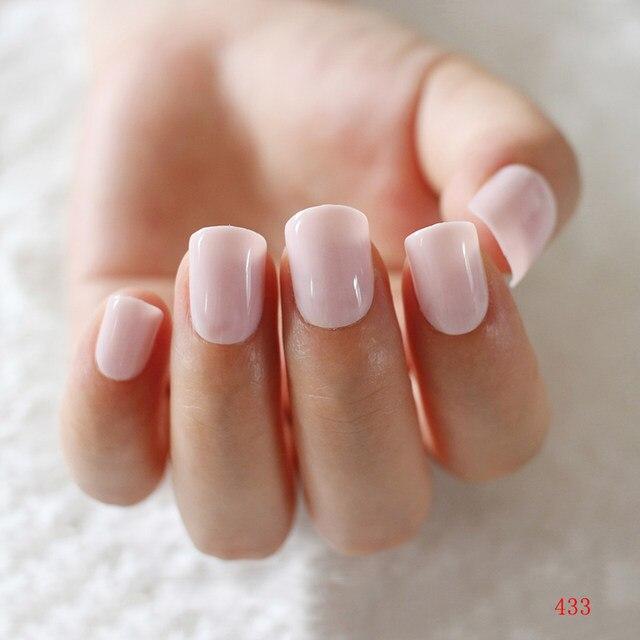 Online Shop 2018 Fashion Women Candy False Nails Short
