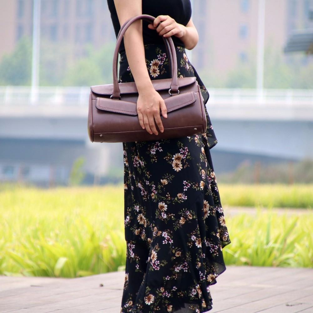 Fashion Retro Designer Women Leather Bag\Handbag 2018 New ladies' Shoulder Bag OL Tote Bag ~Quality Guaranteed~17B6