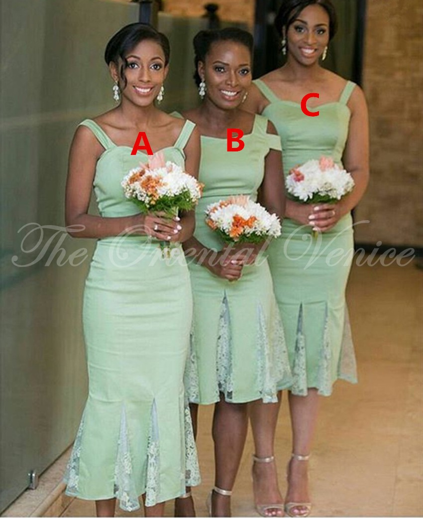 Aliexpress buy 2017 african style mint green bridesmaid aliexpress buy 2017 african style mint green bridesmaid dresses for black girls lace short wedding party dress vestidos de fiesta cortos from reliable ombrellifo Choice Image
