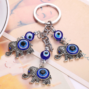 Keychain Key Ring Lucky Elepha