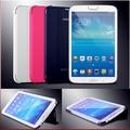 2017 Горячая оптовая Ultra Slim Тонкий Кожа Смарт Case для Samsung Galaxy Tab 3 7.0 T210 T211 P3200 P3210 + стилус бесплатная доставка
