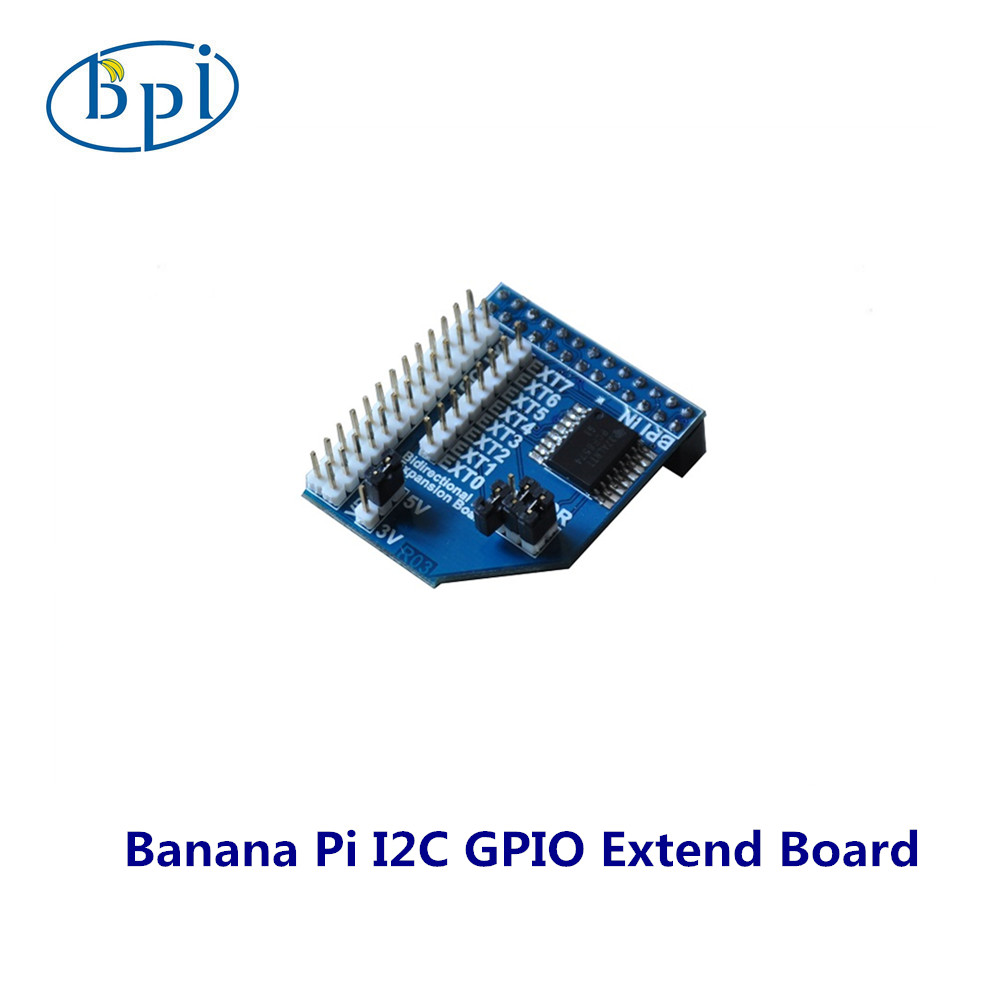Banana Pi I2c Gpio Expansion Board Io Extend Adapter Extension Plate Wiringpi Functions Expand Module In Demo Accessories From Computer Office On