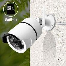 SDETER беспроводная камера видеонаблюдения Wifi наружная водостойкая пуля ip-камера безопасности Встроенная г 16 г sd-карта ИК ночного видения движения сигнализации