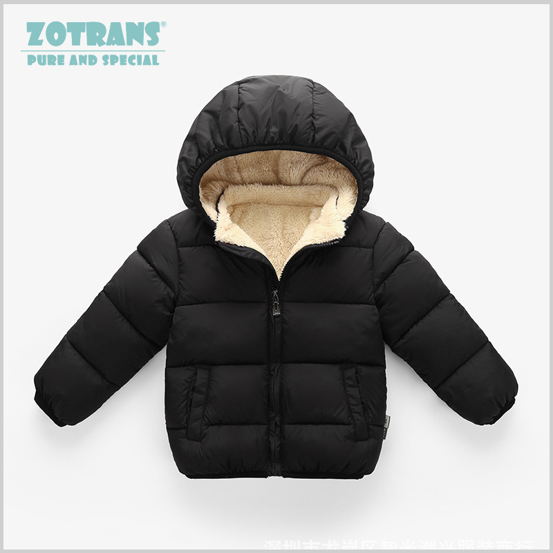 b50f79aae Baby Coat Boys Winter Jackets For Children Autumn Outerwear Hooded Infant  Coats Newborn Clothes Kids Snowsuit