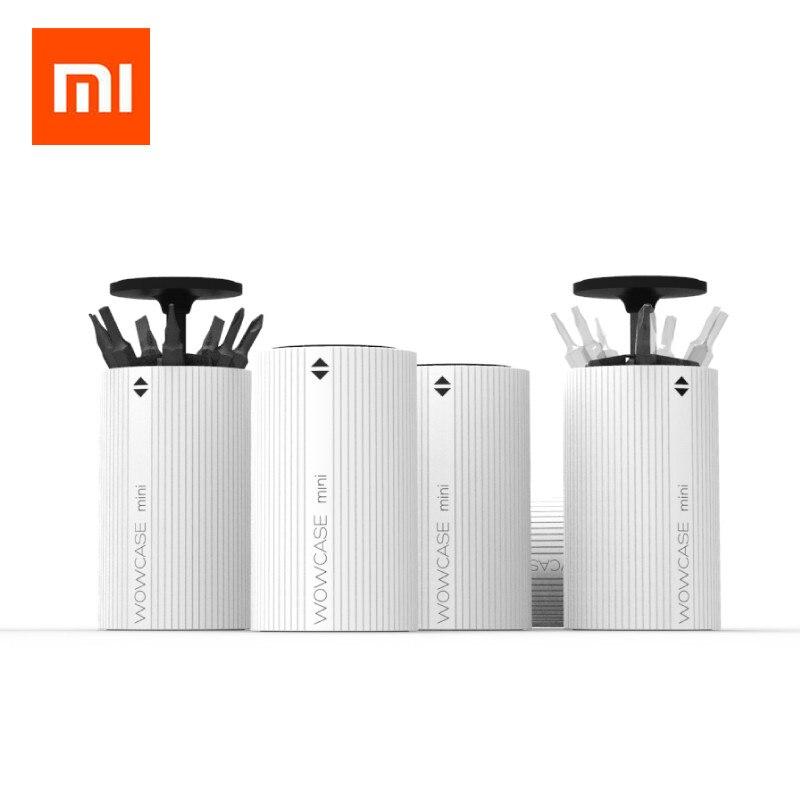 Xiaomi Mijia Wowstick Wowcase Electric Screw Driver Drill Bit Head Box For A1,1S,1F,1P,1FS,1P+,1F+ And More Electric Screw Kits
