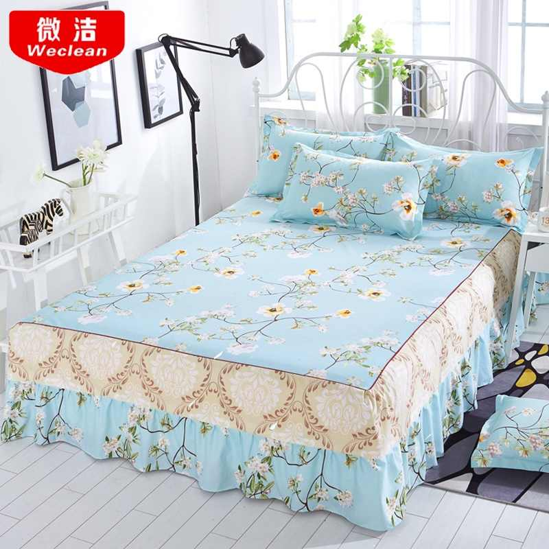 Detail Feedback Questions About Bed Skirt Bedcover Floral Fitted