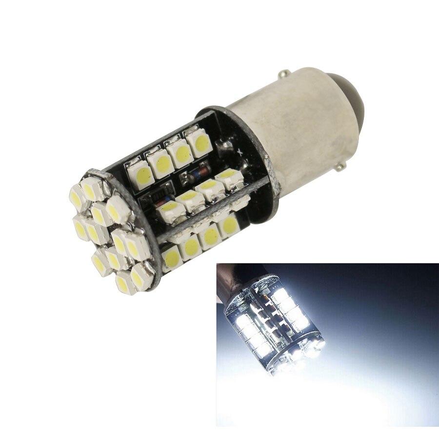 1156 BA15s из автомобиля canbus Автоматический свет сигнала поворота Лампа чистый Белый 44 SMD из светодиодов нет ошибка сигнала парковка колбы лампы DC12V горячая Продажа 1шт