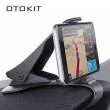 Soporte de teléfono de coche de tablero pulgada, soporte de teléfono de coche con Clip fácil, soporte de teléfono de coche, soporte de pantalla GPS, soporte de coche negro clásico