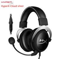 KINGSTON HyperX Cloud серии игровая гарнитура подходит для компьютера телефон tablet наушники с микрофоном