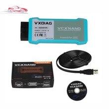 Original WIFI VXDIAG VCX NANO 5054A ODIS V3.03 Unterstützung Uds-protokoll multi-sprachen Mit OKI Span