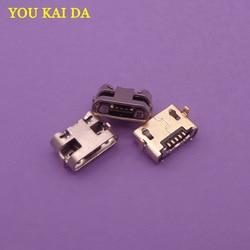 30 pçs micro usb 5pin dip2 mini conector porta de carregamento móvel para huawei y5 ii CUN-L01 mini mediapad m3 lite p2600 BAH-W09/al00