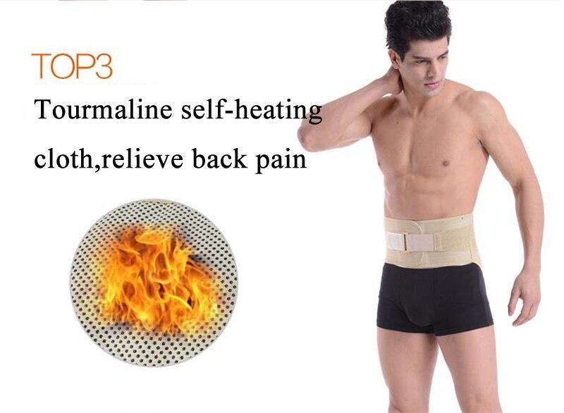 4PCS Stålben Magneterterapi Turmalin Självuppvärmande midjebälte - Sjukvård - Foto 5