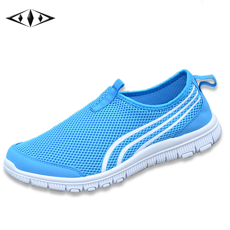 LEMAI Summer Women Sneakers Summer Semi-Drag Lady New Trend Sport Light Mesh Walking Shoes For Male Footwear Size 40-44 fb002-6