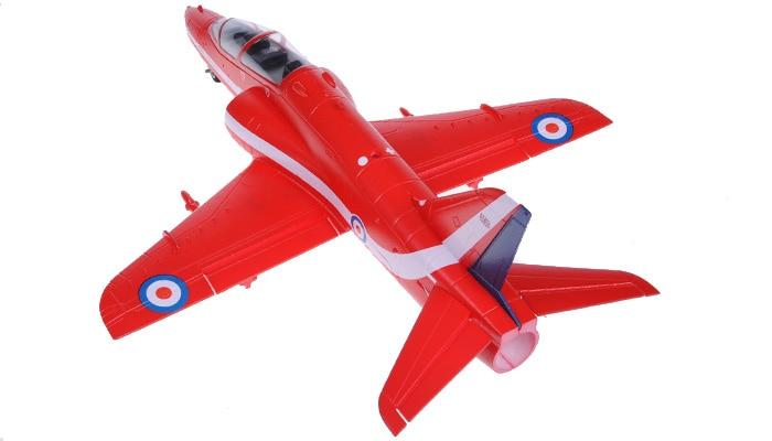 Mini red T45 T 45 50mm RC EDF jet plane