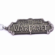 World of Warcraft Logo Patterned Keychain