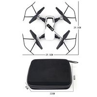 M001 Mini RC Quadcopter Drone with 2MP WIFI 2.4G 4CH 6 Axis Gyro Hovering Camera Drone FPV