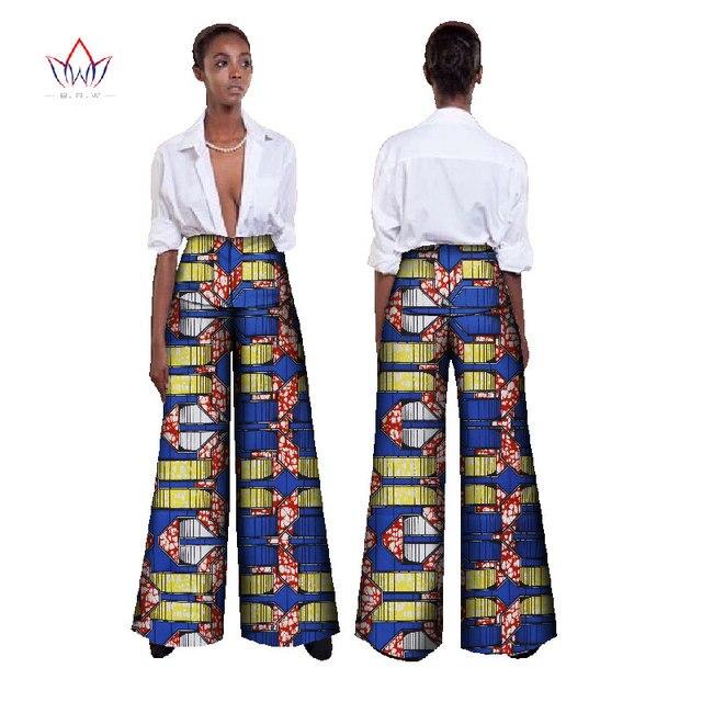 brw tissu africain cire impression de haute taille l che pantalon plus la taille africain. Black Bedroom Furniture Sets. Home Design Ideas