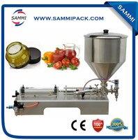 Pistão Pneumático de Aço inoxidável Máquina de pasta de Enchimento/enchimento de creme
