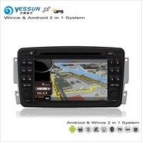 YESSUN Voor Mercedes Benz Vito/Viano/Valente/Vaan 2004 ~ 2006 Auto Android Radio CD Dvd-speler GPS Kaart Navigatie Audio Stereo
