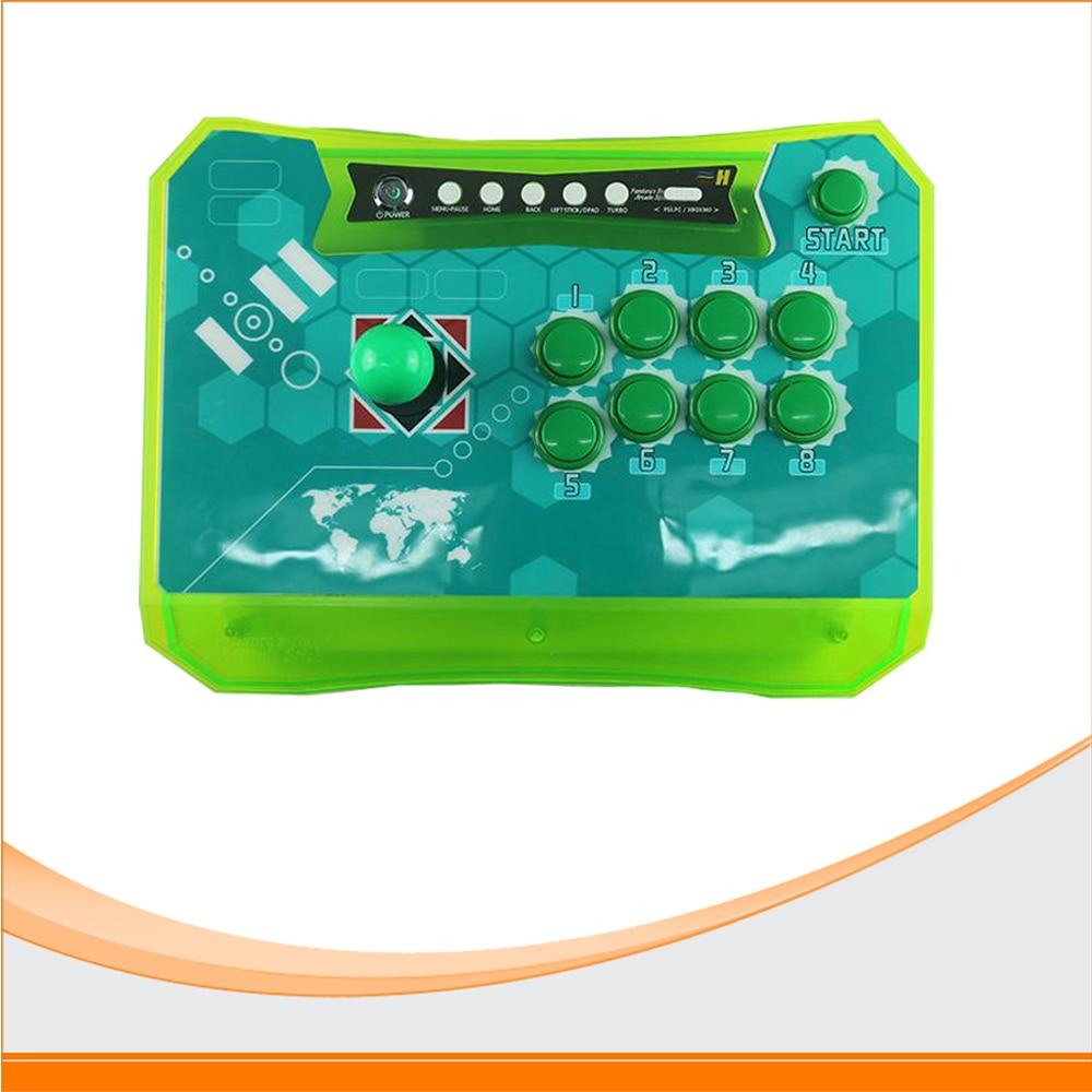 Pandora's Box Wireless Arcade Stick Combo Arcade Controller Kit use Pandora Box 4 borad