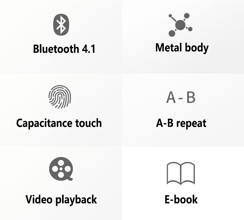 Detail Feedback Questions about Bluetooth 4.1 MP3 Player