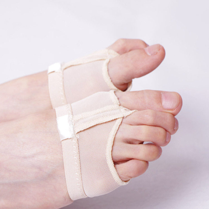 Professional Belly Ballet Dance Toe Pad Practice Socks Shoes Protection Dance Socks Foot Thongs Feet Care