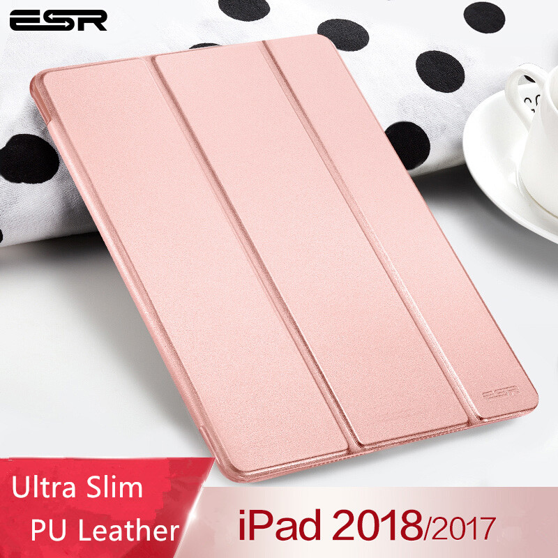 case-for-ipad-97-2018-esr-yippee-color-pu-leather-ultra-slim-light-weight-pc-back-cover-case-for-ipad-2018-new-model