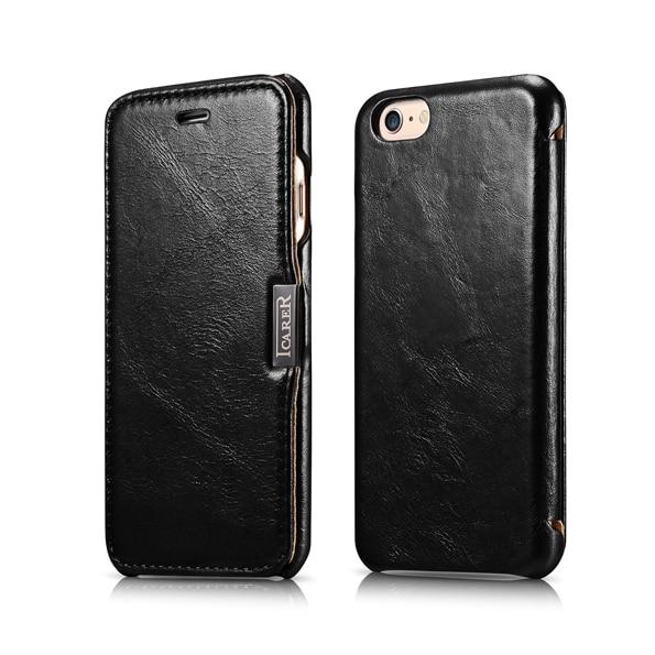 Originální ICARER luxusní originální kožená krytka pro iPhone 6 6 s 4,7 palce, ultratenká prémiová kvalita, pouzdro na telefon
