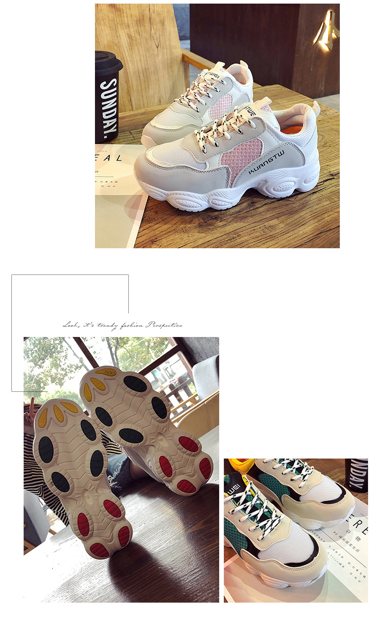 13  New itemizing sizzling gross sales Spring and Autumn web Breathable sneakers girls trainers DKS-186 HTB1