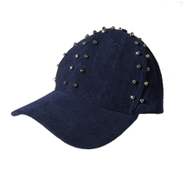 Wholesale Cheap Cool Hats Dad Hats For Men Punk Winter Hats For Girls With Bead Snapback