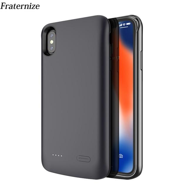 c51cf0431bd Veja o preço Fino Carregador de Bateria Case para iPhone X XS Max ...