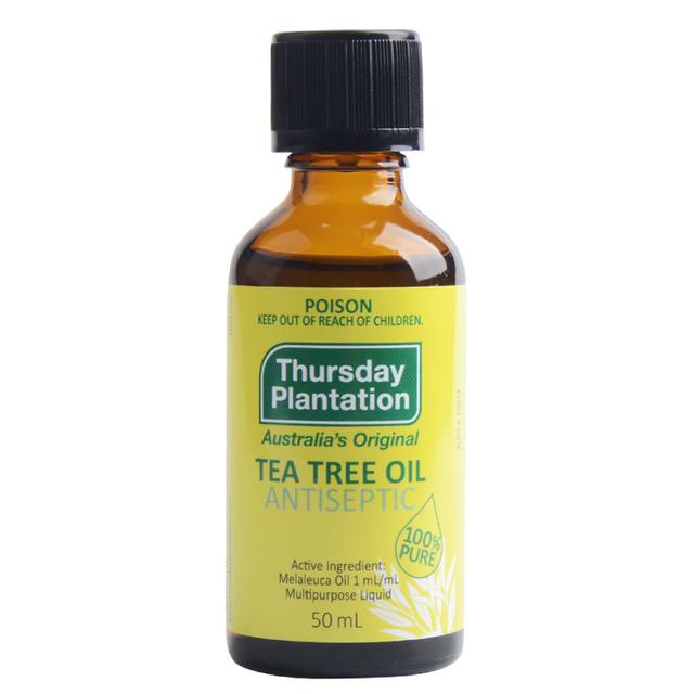 Australia high quality 100%Pure Tea Tree Oil 50ml Acne Treatment Remove  Shrink Pore Antiseptic