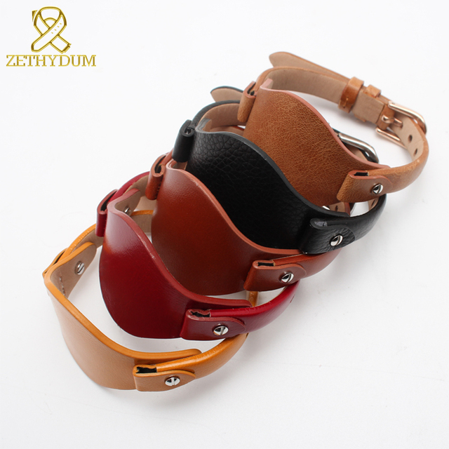 Genuine leather bracelet strap women watchband small belt 8mm for Fossil  ES4176 ES4119 ES4026 3262 3077 watch band with mat