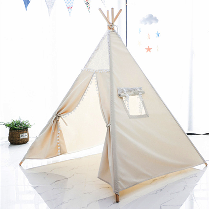 Love Tree Wigwam Lace Dream Tent Indian Play Tent For Kids Large Teepee Tents hot sale indian wood tent teepee tents for sale for sale teepee tent for party