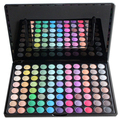 Free Shipping  88 Color Makeup Set Eye shadow Palette with Mirroe Cosplay Palette