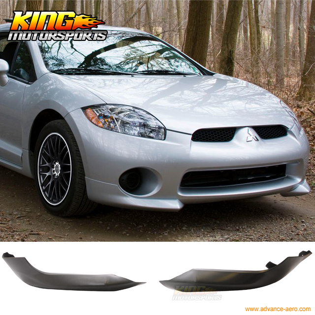 for 2006 2008 mitsubishi eclipse oe factory style front bumper lip