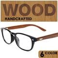 optical Wood frame glasses of grade men women frames eyewear gafas de madera occhiali masculino feminino