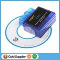 Novo Mini ELM327 V1.5 OBD II OBD 2 Bluetooth Car/Auto Scan Ferramenta de Diagnóstico Interface De Scanner Suporte Adaptador Android e Symbian