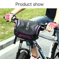 Waterproof Front Tube Bicycle Pocket Shoulder Backpack Bike Bag Large Capacity Handlebar YS BUY