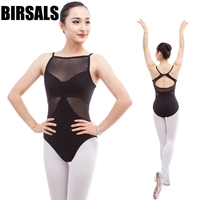 High Quality Women Ballet Leotards With Mesh CS0300 Adult Sexy Dance Clothes Gymnastic Leotard For Girls