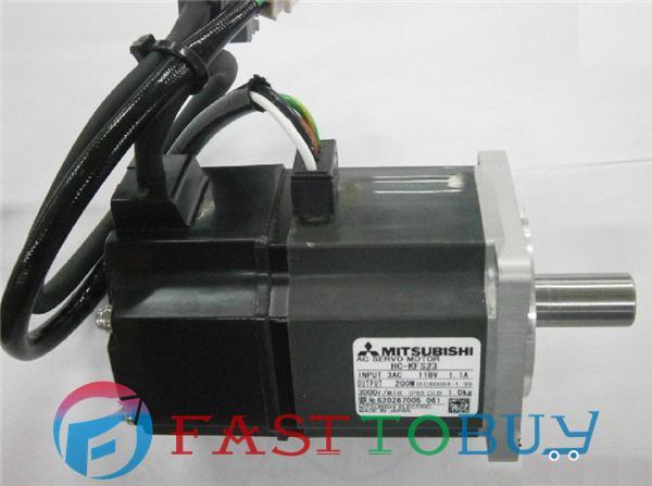 все цены на  HC-KFS23 200V 1.1A 200W 0.64NM 3000rpm AC Servo Motor New  онлайн