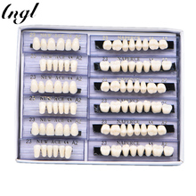 168 шт./кор. Размеры 23 24 акрил полимерный зубной протез стоматологические зубы включают верхней и нижней A2/A3 отбеливание зубов модели стоматологических материалов