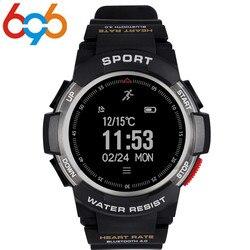 696 smart watch f6 IP68 impermeabile GPS smart watch sonno monitor remote camera watche per gli uomini di sport all'aria aperta SmartWatch PK GV68
