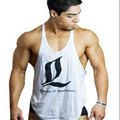LOA Brand GymTank Top Men bodybuilding stringer tank tops Fitness Singlet Sleeveless shirt Workout Clothing Golds GASP