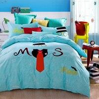 Unique Adult Christmas Halloween Dinosaur Bedding Set Quilt Cover Bedsheets Cotton Chic Textile Sets For Full