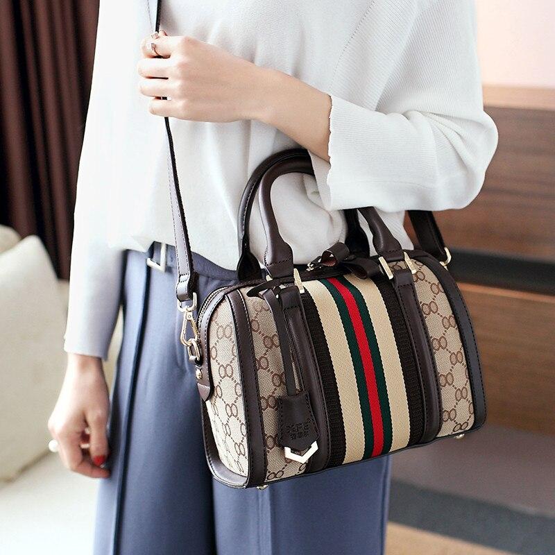 LANKOU sacs à bandoulière pour femmes PU cuir luxe unique sacs à bandoulière dames Boston oreiller sacs Designer sacs à main femme sac